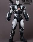 Iron Man 2 Hot Toys Movie Masterpiece 1/6 Scale Collectible Figure War Machine SPECIAL VERSION BLACK WHITE