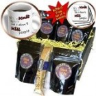 EvaDane – Funny Quotes – I knit so I don't kill people. Knitting. – Coffee Gift Baskets – Coffee Gift Basket