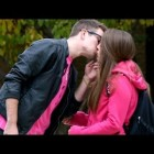 Pink Shirt Kissing Prank