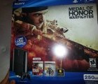 PS3 Slim 250GB Medal of Honor: Warfighter Bundle (PlayStation 3)