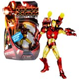 Hasbro Year 2008 Marvel Movie IRON MAN Concept Series 6 Inch Tall Action Figure – IRONMAN HOT ZONE ARMOR with Rocket Launcher, Gattling Gun, 2 Missiles and 2 Hand Blasters