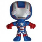 Iron Patriot: ~7.5″ Funko 'Iron Man 3' Plushies Figure Reviews