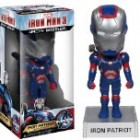 Iron Patriot ~6.5″ Bobble Head Figure: 'Iron Man 3' Wacky Wobbler Series