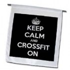 EvaDane – Funny Quotes – Keep calm and crossfit on. Workout. – Flags – 12 x 18 inch Garden Flag Reviews