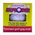 Toy / Game Cloud Flite Exploder – The Ball That Will Vanish Upon Impact – The Funniest Golf Gag Ever! Reviews