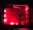 Xbox 360 Custom RED LED Clear Window Top Case – Plug & Play (Phat Consoles Only)