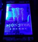 Xbox 360 Custom Monster Blue LED Window Top Case – Plug & Play (Phat Consoles Only)