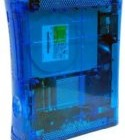 Custom Ghost Blue Xbox 360 Console with Dual Blue Leds