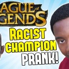 LEAGUE OF LEGENDS IS RACIST! – Prank Call – (New Black Champion)