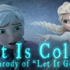 "Funny Let It Go parody ""It Is Cold"" from Disney's Frozen – Hilarious Polar Vortex version"