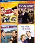 Classic Comedy Spotlight Collection (Buck Privates / Duck Soup / Road to Morocco / My Man Godfrey) Reviews