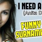 FUNNY SURNAMES 4 – PRANK CALL