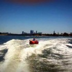 Getting Air in the Biscuit – Funny Water Sport Video in Perth!