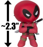 Deadpool Folding Arms: ~2.3″ Marvel x Funko Mystery Minis Vinyl Mini-Bobble Head Figure Series Reviews