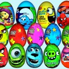 70 Surprise eggs Kinder Surprise Маша и Медведь Disney Pixar Cars 2