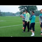 [FUNNY] Cristiano Ronaldo Playing American Football in Training – World Cup 2014