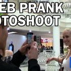 Celebrities Photo shoot Prank!