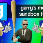 Gmod Sandbox Funny Moments – Sonic 1v1, Mcdonalds, Baseball Bat Fun, Batman, Murder House!