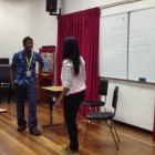 Nathan & Farah Duet Acting Performance in SEA Forensics 2012