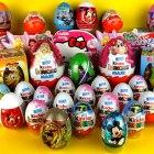 35 Surprise Eggs, Kinder Surprise Mickey Mouse, Cars 2 Маша и Медведь Киндер Сюрпризы Disney Pixar