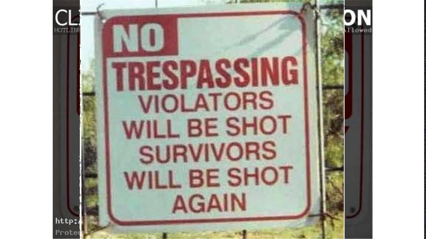funny warning signs | MakeMeLaughs.com