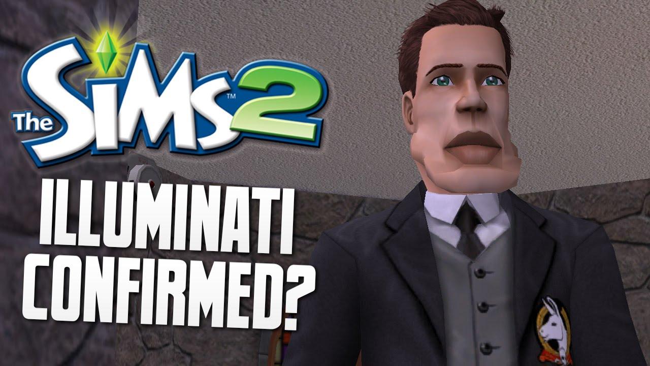 Joining the illuminati the sims 2 funny moments 2 makemelaughs