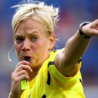 Sexy ~ female referee ~ player touching breasts ~ Pep Guardiola ~ football ~ funny