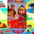 Набор С Сюрпризами  Маша и Медведь  Unboxing  Surprise eggs  Masha and the Bear -Маша и Медведь