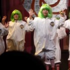 Tyler's 1st Acting Debut – Oompa Loompa day 2