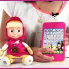 Маша и Медведь  Мягкая игрушка с планшетом V9136430)