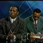 Chris Eubank and Nigel Benn sign the fight contract ! (Funny)