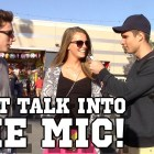 Don't Talk Into The Mic And Win $20