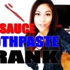 HOT SAUCE TOOTHPASTE PRANK (GF Revenge)