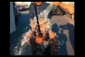 Usher ALS Ice Bucket Challenge