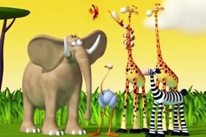 Funny Animals Cartoons Compilation Just for Children To Have Fun!!!