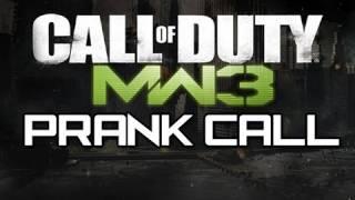 MW3 - Funny Prank Phone Call (Xbox Live Prank Phone Call)