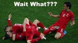 Funny Football Moments 2014/15 HD #1 ● Fails Compilation ● Goalkeeper Saves ● Strange Goals ● Miss