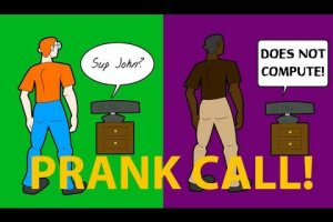 Racist Xbox 360 Kinect Support Prank – OwnagePranks