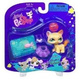 Littlest Pet Shop Yellow Cat with Accessories