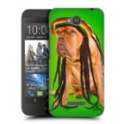 Head Case Designs Rastafarian Dog Dreadlocks Funny Animals Protective Snap-on Hard Back Case Cover for HTC Desire 616 Reviews